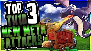 TOP 3 NEW META TH10 ATTACKS USING SIEGE MACHINES | Clash of Clans