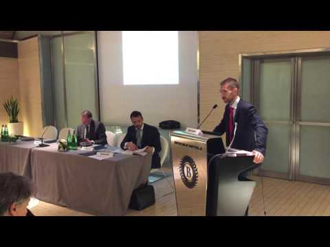 Alessio Crisantemi presenta il libro 'La Questione territoriale'