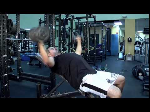 Exercise of The Week - Dumbbell Press - Incline Fly