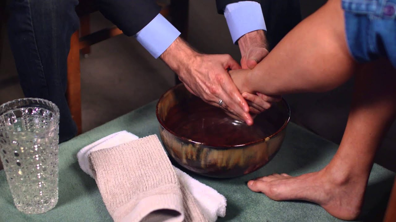 Gospel Of John Foot Washing