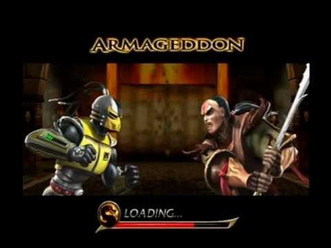 Mortal Kombat Armageddon - Scorpion - Max Difficulty ...