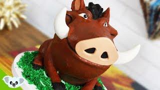 The Lion King PUMBA CAKE! | Koalipops How To