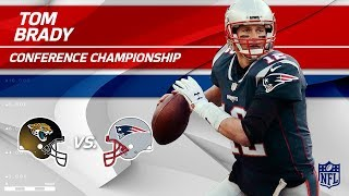 Tom Brady's Double TD Day vs. Jags! | Jaguars vs. Patriots | AFC Championship Player HLs