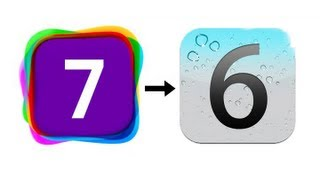 Downgrade iOS 7 to iOS 6 (iPhone 5, iPhone 4S, iPhone 4, iPod Touch 5G)