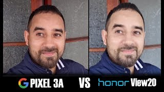 Google Pixel 3A vs Honor View 20 - Camera Comparison