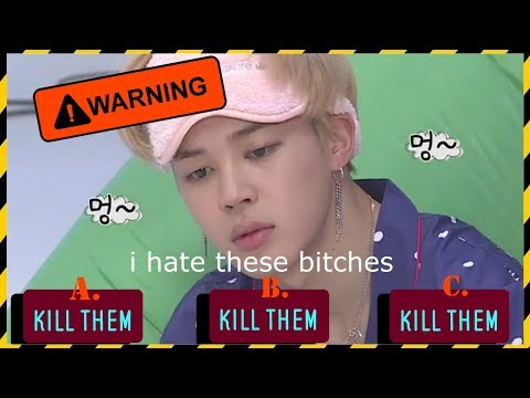 BTS CRACK- JIMIN IS VERY ANGRY