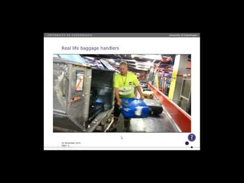 [Webcast] - Loading an aircraft - Analysis of lumbar loads in airport baggage handlers