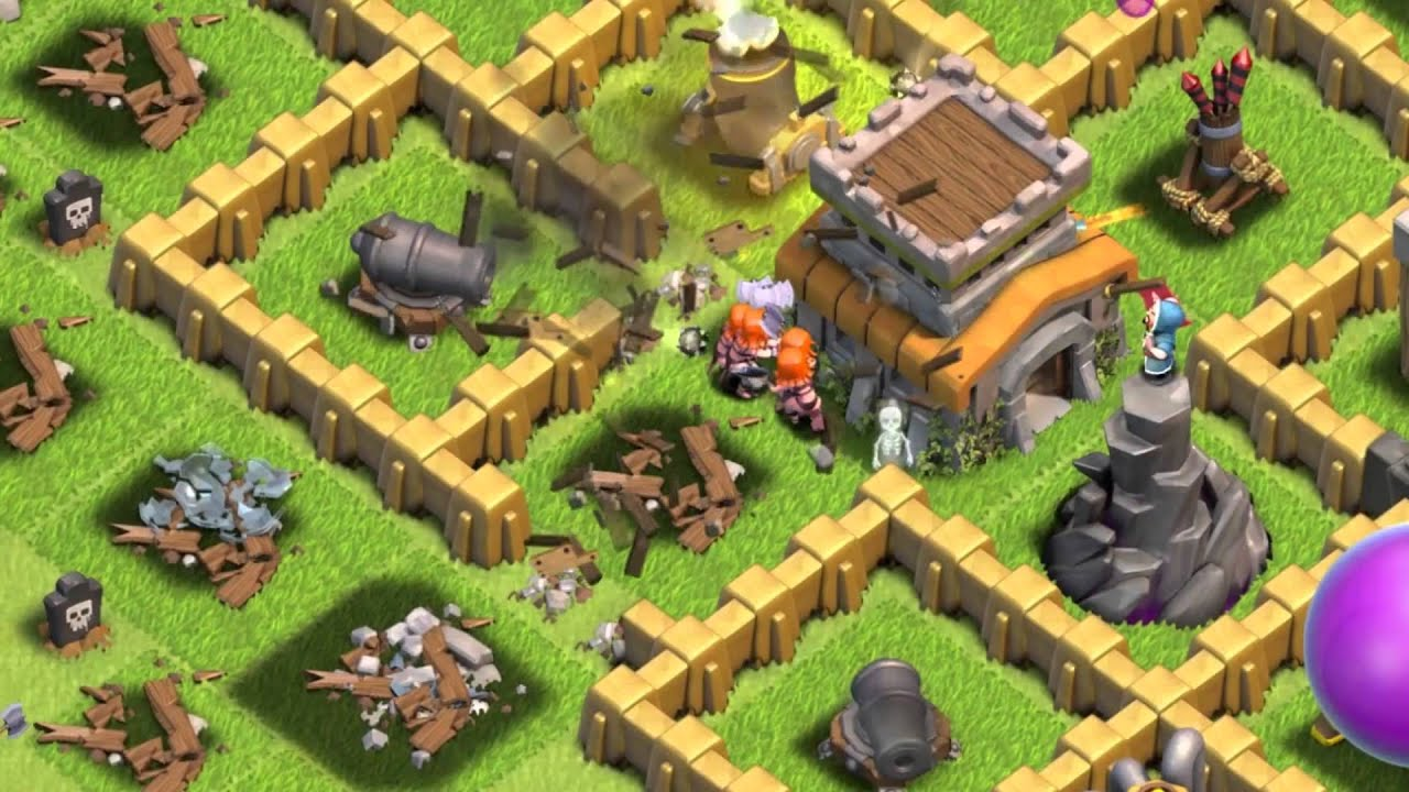 Clash of Clans: The Valkyrie