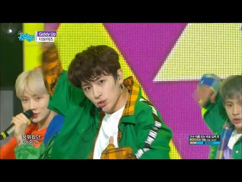 The Boyz - Giddy Up [Show Music Core Ep 587]
