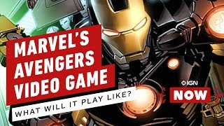 Will the Avengers Video Game Be Marvel's Destiny? - IGN Now