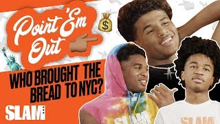 HS Hoopers Brought BANDS to NYC?! 💰 | SLAM Point 'Em Out