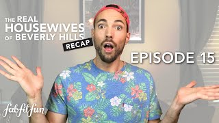 Season 9, Episode 15   The Real Housewives of Beverly Hills Recap