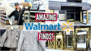 WALMART SHOP WITH ME & HAUL! HOME DECOR, FASHION, BEAUTY!