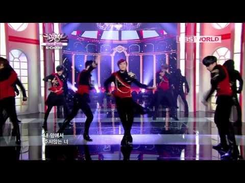 [Music Bank K-Chart] BOYFRIEND - JANUS (2012.11.9)