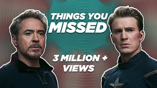 40 Things You Missed In Avengers: Endgame | HINDI | Easter Eggs | Watch With Abhi