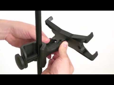 iKlip Xpand universal mic stand support for iPad and tablets