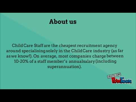 Find Child Care Staff Recruitment Agency in Sydney