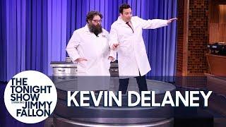 Kevin Delaney and Jimmy Fallon Create Instant Quicksand