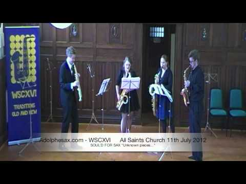 WSCXVI SOUL´D FOR SAX   Unknown pieces   2