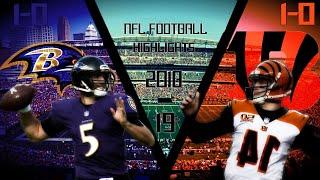 NFL Week 2: Cincinnati Bengals vs Baltimore Ravens Highlights