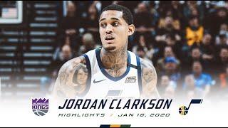 Jordan Clarkson 20 points Highlights vs  Sacramento Kings