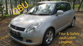In Depth Tour Suzuki Swift 2nd Gen GL M/T (2007) - Indonesia