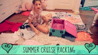 Summer Vacation Packing & More Shopping | Cruise 2016