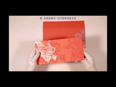 Floral Indian Wedding Cards |IN-8259D| 123WeddingCards
