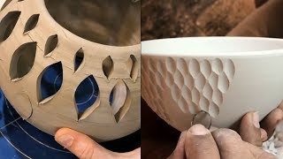 SATISFYING POTTERY / CERAMICS VIDEO COMPILATION  #ultimate