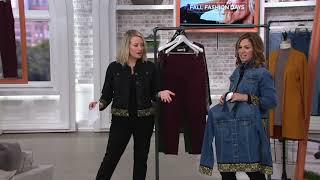 GRAVER Susan Graver Choice of High Stretch Denim Jacket on QVC
