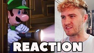 REACTION - Luigi's Mansion 3
