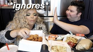Trisha Paytas & Nikocado Avacado being awkward for 2 minutes straight