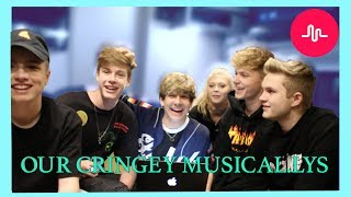 REACTING TO OUR OLD CRINGEY MUSICALLYS FT. Loren Beech, Tyler Brown, Blake Gray, HRVY, Simon Britton