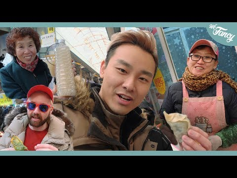 They had EVERYTHING! Best Korean Market Experience? 인천 신기시장