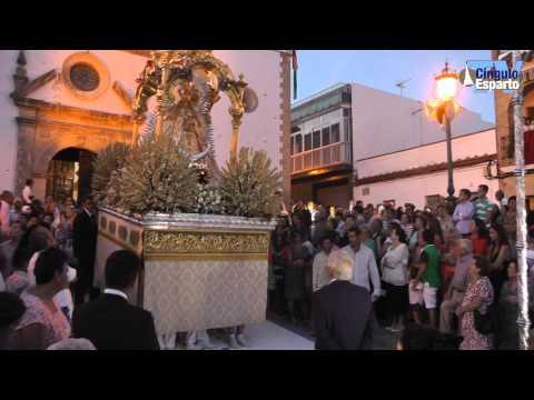 Procesión de la Virgen de Palomares de Trebujena