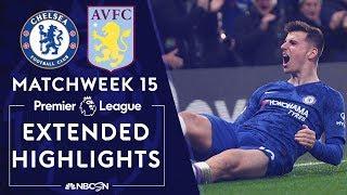 Chelsea v. Aston Villa | PREMIER LEAGUE HIGHLIGHTS | 12/04/19 | NBC Sports
