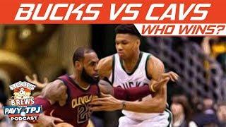 Milwaukee Bucks vs Cleveland Cavaliers, Who will win ?   Hoops N Brews