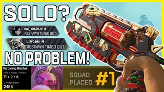 This Intense Solo Ranked Win Shows Why No-Fill Is So Great For Practice - Apex Legends