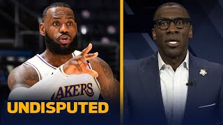 LeBron James sat out because he won't miss the Finals banner unveiling — Shannon | NBA | UNDISPUTED
