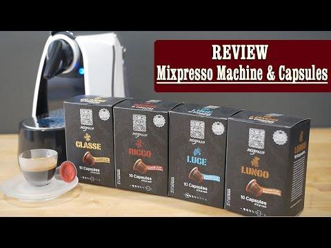 Review: Mixpresso Single Serve Espresso Machine & Capsules (Nespresso Compatible)