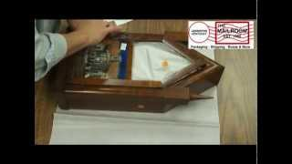 http://www.themailroomky.com/contact.html Packing An Antique Clock for Shipping