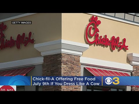 Chick-fil-A Offering Free Food On Cow Appreciation Day