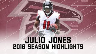 Julio Jones' Best Highlights from the 2016 Season | NFL