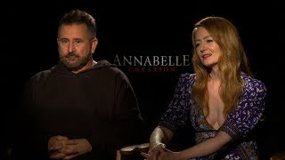 Interview with Anthony LaPaglia and Miranda Otto for Annabelle: Creation