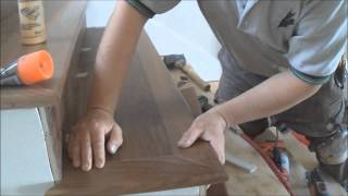 Hardwood Flooring on Stairs: Installing Open Sided Staircase Nosing Tread and Riser from A to Z