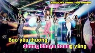 [Karaoke Nhạc Sống] Giả Vờ Yêu [Remix]
