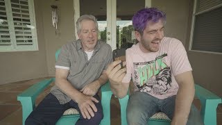 looking at memes with my dad