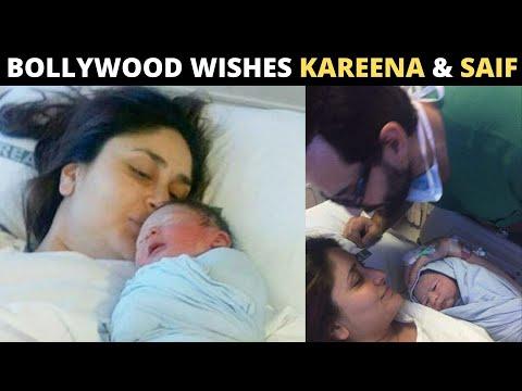Bollywood extends WARM WISHES to Kareena Kapoor and Saif Ali Khan