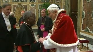 Pope Benedict XVI Says Goodbye to Cardinals Amid Resignation- ABC News Special Report