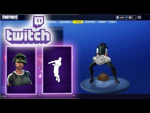 Twitch Prime Fortnite Pack 2 Emote